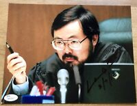 JUDGE LANCE ITO SIGNED JSA 8x10 PHOTOGRAPH AUTOGRAPH PICTURE OJ SIMPSON TRIAL