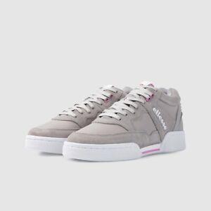 Ellesse Piazza Suede Mens Shoes- Opal Grey