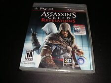 Assassin's Creed: Revelations  (Sony Playstation 3, 2011) BRAND NEW sealed PS3