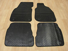 Audi A6 2000-05 (Allroad) Fully Tailored RUBBER Car Mats in Black.