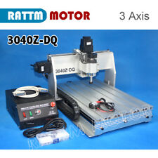 3 Axis 3040Z-DQ 300W CNC Router Engraver Engraving Milling Machine 110/220V