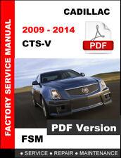 2009 cts v manual