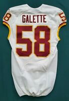 #58 Junior Galette of Washington Redskins NFL Locker Room Game Issued Jersey