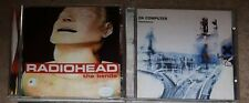 RADIOHEAD THE BENDS + OK COMPUTER  2 x CD [PARANOID ANDROID/MY IRON LUNG]