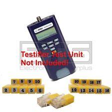 Test-Um JDSU TP650 TP314 Testifier Pro RJ11 Remote Identifier Mapper IDs 1-20