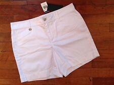 NWT Ralph Lauren Women's Shorts Size 6 White Retail $59.00