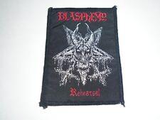 BLASPHEMY BLACK METAL WOVEN PATCH