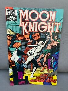 Moon Knight Vol 1 #18, Marvel Comics 1982, 1st Appearance Slayers Elite B39