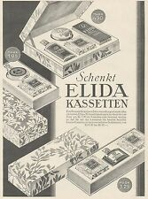 J1424 ELIDA kassetten - Pubblicità grande formato - 1929 Old advertising