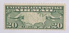 TRAVELSTAMPS: 1926-30 US Stamps Scott # C9 Map of U.S mint Original Gum LH