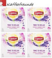 Lipton Tee 5 X 20 100 Pyramidebeutel time To Relax