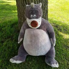 Jungle Book Baloo Bear Huge Plush Stuffed Animal 3 Feet Tall Disney Exclusive
