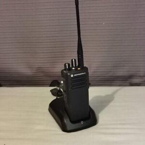 Motorola DP4400 +Charger +Programming. Professional Digital Radio Security/Event