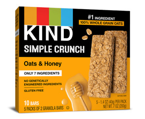 Kind Simple Crunch Oats & Honey