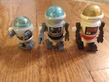 1984 Tomy wind-up Rascal Robots lot of 3 - all functioning