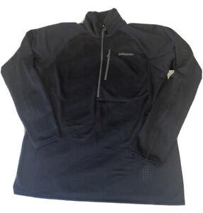Patagonia R1 Pullover Mens Size XL Black 40109