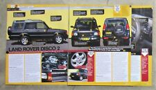 LAND ROVER DISCOVERY 2 4x4 4WD V8 Car Auto Magazine Page Article Buyers Review