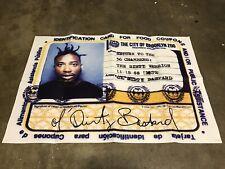 🔴 Wu-Tang Poster ODB Ol' Dirty Basterd Rare 24x36