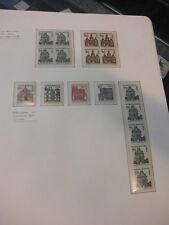 SPÉCIAL Collection, Berlin, Bâtiments 242-249, menthe, DZ Coins HAN etc (1313)