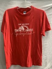 Vtg Belmont 600 Mile Cycling Club T Shirt~XL(med Now)~50/50 Cotton Poly Blend