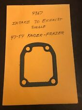 1954-63 Willys Jeep 47-54 Kaiser 6 226 L-Head Intake to Exhaust Manifold Gasket