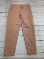 Talbots Women's Size 6 Waist 30 The Weekend Chino Trouser Mid Rise Pants Peach