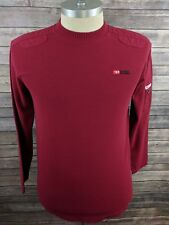 Diesel Mens Pullover Sweater Crew Neck Red Size Large