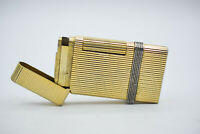Zaima Cavalier Lighter Vintage Japan Goldtone Cigarette Gas Rare Pipe Lighter