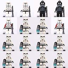 16pcs Star Wars Shadow ARF Trooper + Storm Trooper Minifigures Lego