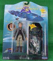 SeaQuest DSV Dr Z Rubin Zellar Action Figure w Cryo-Chamber Playmates 1993 New