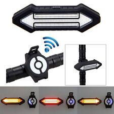 Remote Control Wireless MTB Bike Bicycle Rear Lamp Taillight Turn Signal Light