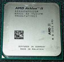 AMD Athlon II  X 4  3.1 GHz  Quad Core 645 Processor, ADX645WFK42GM, AM2+ / AM3