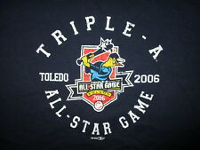 MINOR LEAGUE BASEBALL ALL-STAR GAME T SHIRT Toledo Mud Hens 2006 Triple A LARGE