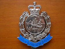 1969~1997 Royal Hong Kong Police Metal Cap Badge FIRMIN LONDOM