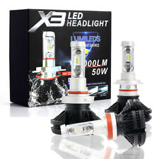 H7 LED Headlight Bulbs Light 50W 6000LM Car Conversion - 3000K,6500K,8000K