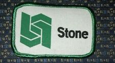 "STONE Patch Iron or Sew-on 3""X2"""