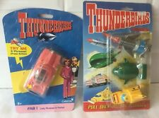 THUNDERBIRDS FAB 1 - (PARTIALLY SEALED) AND VEHICLE PACK - STILL SEALED.