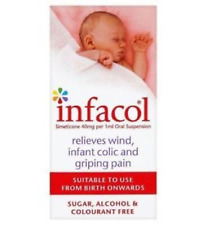 Infacol Suspension 50ml X 4  Relieves Wind, Colic, Griping Pain