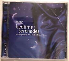 More Bedtime Serenades (2008 Denon classical OOP CD) NEW FACTORY SEALED/Crack
