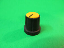 Yellow Mixing Board Press On Potentiometer Knob From A Carvin MX1622 Mixer