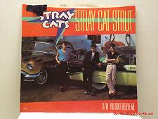 STRAY CATS -(45 W/ PIC. SLV.)- STRAY CAT STRUT / YOU DON'T BELIEVE ME - EMI-1982
