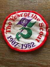 Boy Scouts Scouting The Year Of The Scout Badge 1982