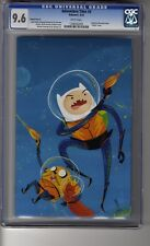 Adventure Time # 3 Virgin Cover D - CGC 9.6 WHITE  Pages - Finn & Jake
