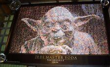 Jedi Master Yoda Photomosaics Poster
