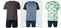 Mens Marks And Spencer M&S Summer Short Cotton Pyjamas PJ's Various S -XXXL NEW
