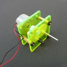 Reduction Gear Box Reduce Motor for Robotic Car Solar Toys DIY Robot Hobby Model