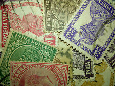 Lot of 25 British India stamps!!