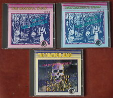 THE GRATEFUL DEAD Live in SF 1968 & in LA Vol I&II 1967 BLACK PANTHER NM Cond