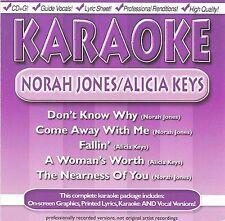 FREE US SH (int'l sh=$0-$3) USED,MINT CD : Karaoke: Norah Jones & Alicia Keys Ka