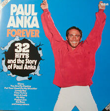PAUL ANKA FOREVER 32 HITS AND THE STORY 2 LP´S RCA ALLEMAND PRESSING [j933]